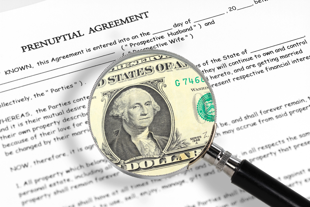 Kingsville Prenuptial Agreement, Harford County Postnuptial Agreement